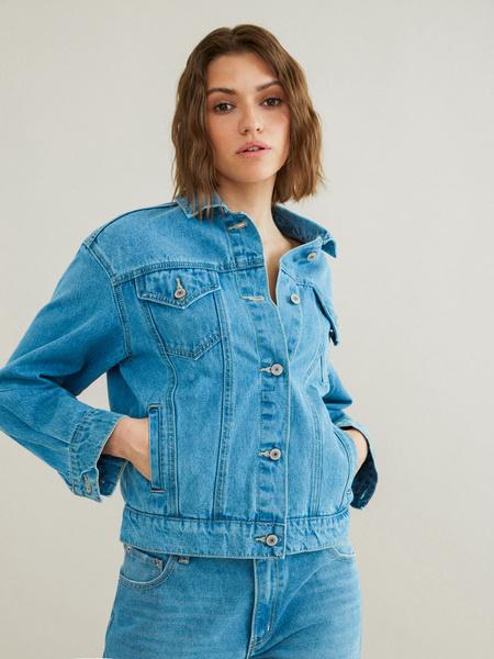 Джинсовая куртка - фото 2