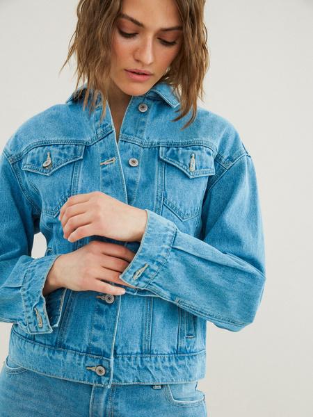 Джинсовая куртка - фото 3