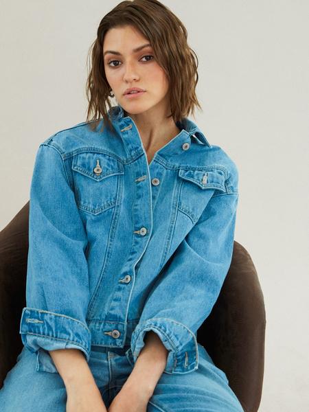 Джинсовая куртка - фото 8