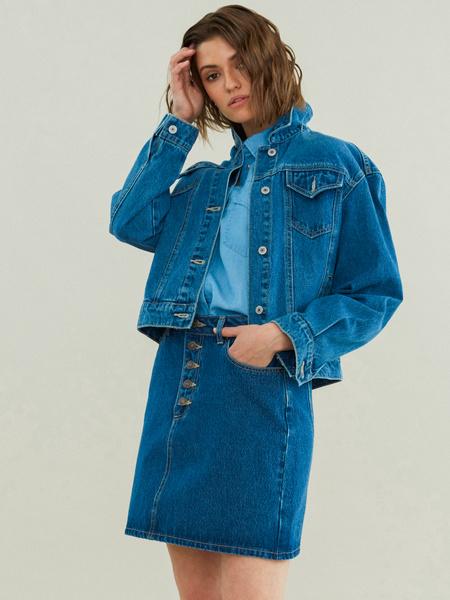 Джинсовая куртка - фото 1