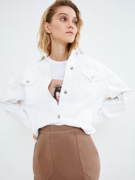 Хлопковая юбка с карманами - фото 6