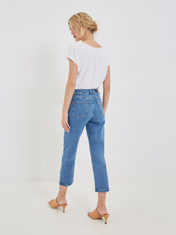 Брюки джинсовые - фото 6