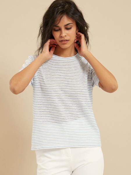 Полосатая футболка - фото 2