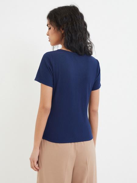 Блузка с коротким рукавом - фото 2