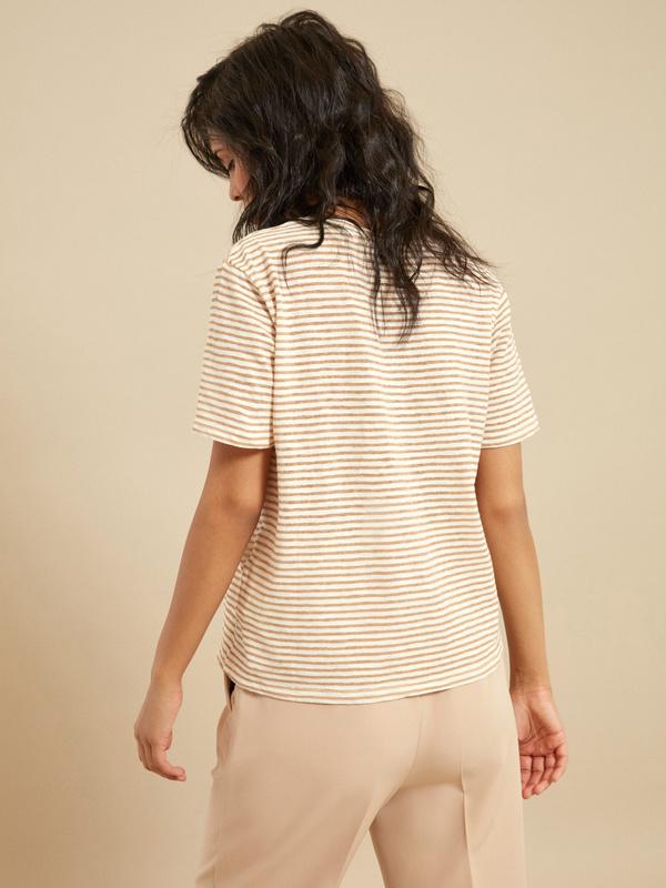 Полосатая футболка - фото 4
