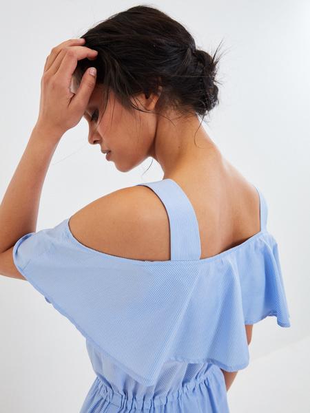 Платье с воланами - фото 4