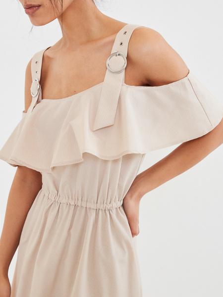 Платье с воланами - фото 3