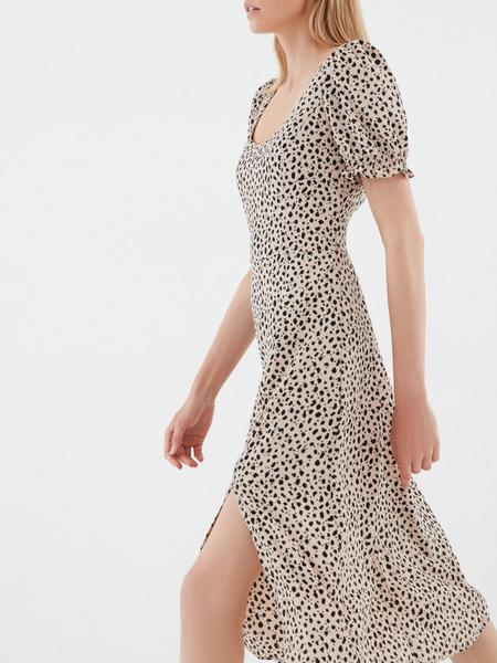 Платье-миди с принтом - фото 3