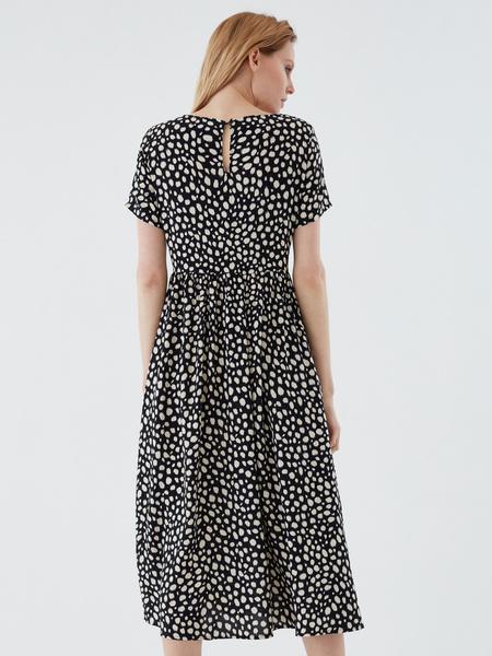 Платье-миди с принтом - фото 6