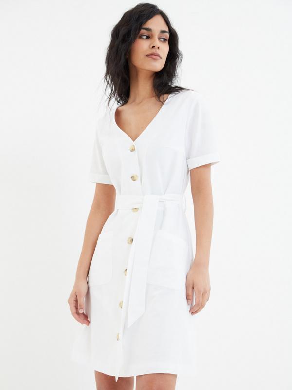 Платье с карманами - фото 1