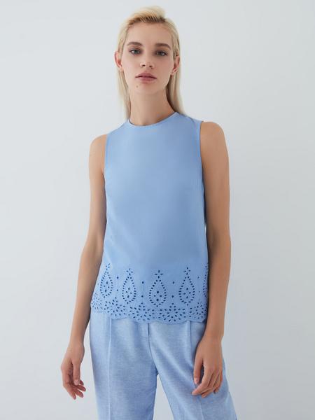 Блузка из хлопка - фото 3