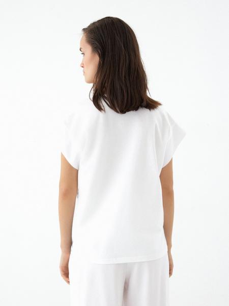 Блузка в полоску - фото 5