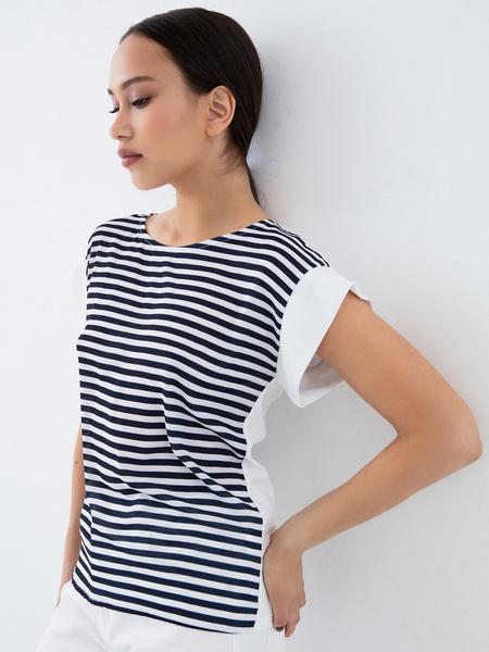 Блузка в полоску - фото 1