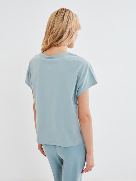 Хлопковая футболка - фото 4