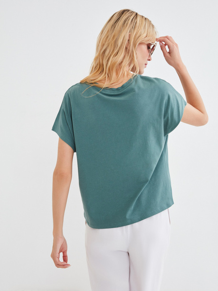 Хлопковая футболка - фото 3