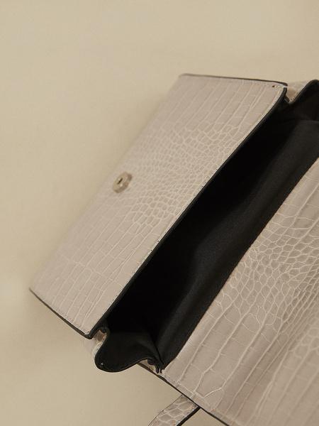 Мини-сумка имитация под змею - фото 2