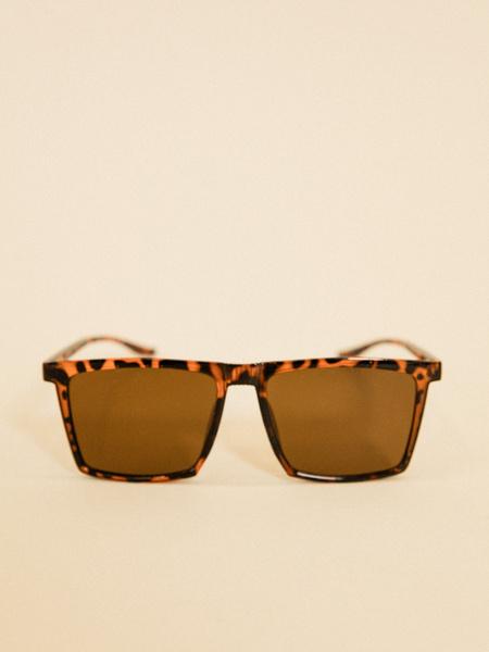 Солнцезащитные очки анималистичный принт - фото 2