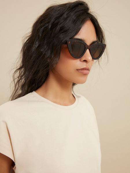 Солнцезащитные очки удлиненной формы - фото 1