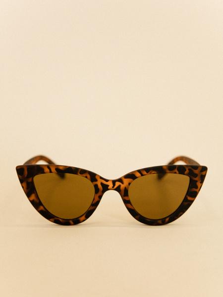 Солнцезащитные очки удлиненной формы - фото 2
