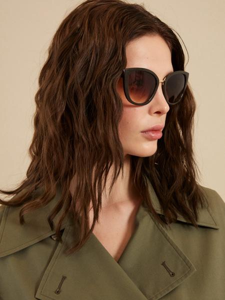 Солнцезащитные очки «кошачий глаз»