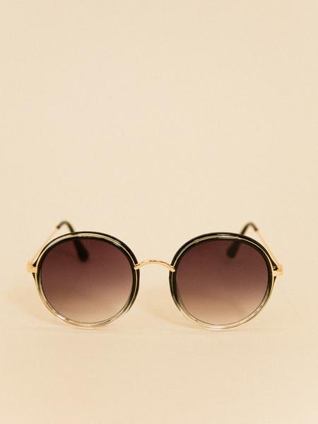 Солнцезащитные очки круглой формы - фото 2