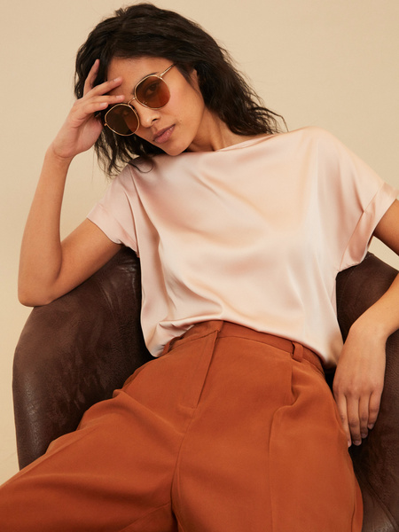 Солнцезащитные очки в металлической оправе - фото 1