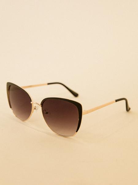 Солнцезащитные очки с уголками - фото 2
