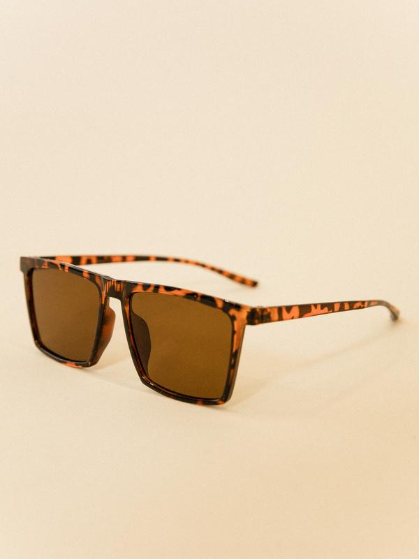 Солнцезащитные очки анималистичный принт - фото 3