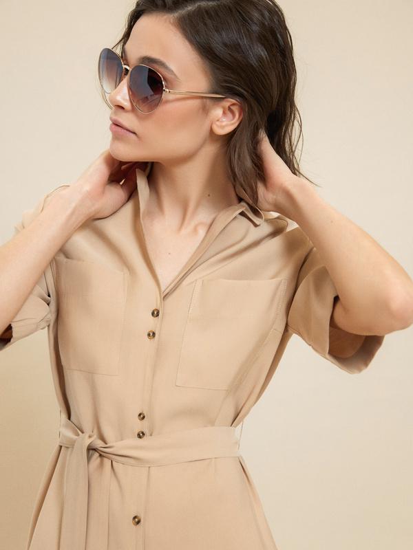 Солнцезащитные очки-авиаторы - фото 1