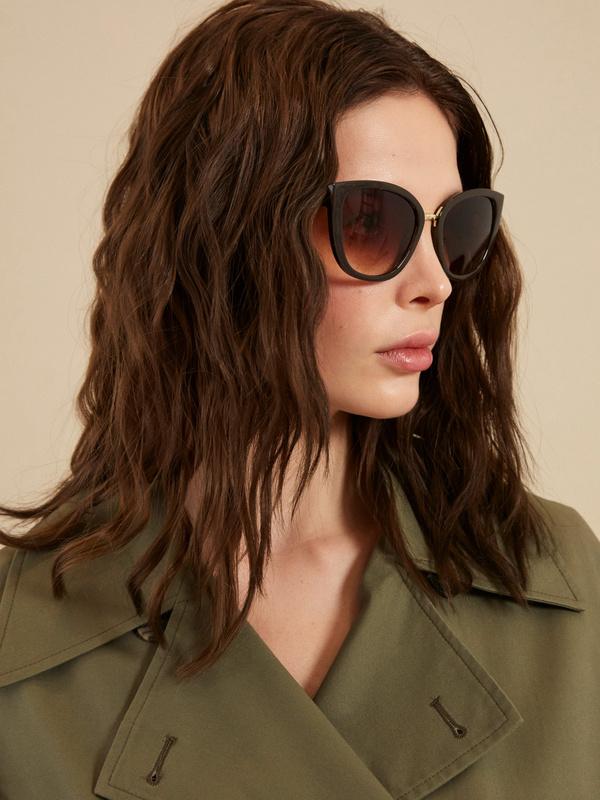 Солнцезащитные очки «кошачий глаз» - фото 1