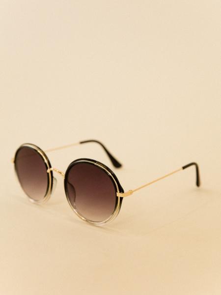 Солнцезащитные очки круглой формы - фото 3
