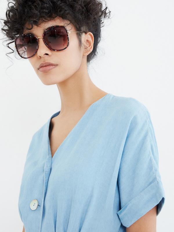 Солнцезащитные очки оверсайз