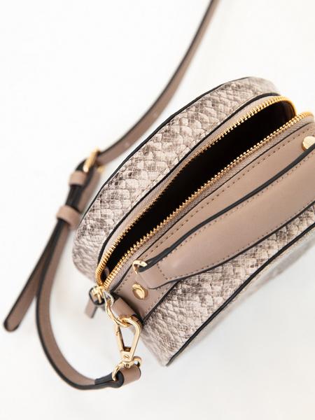 Круглая сумка из искусственной кожи - фото 3