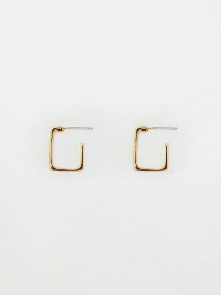 Геометрические серьги - фото 2