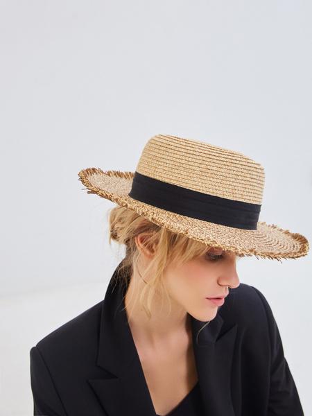 Плетеная шляпа