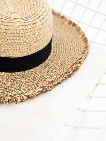 Плетеная шляпа - фото 5
