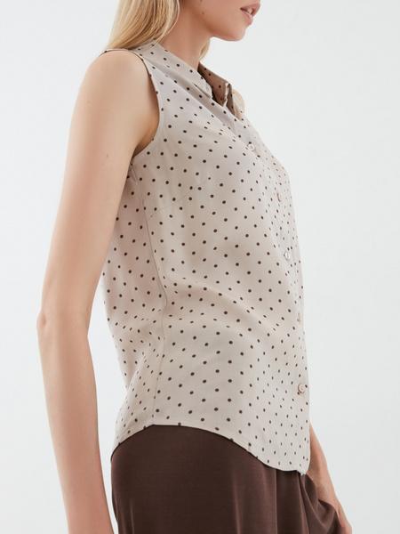 Блузка в мелкий горох - фото 3