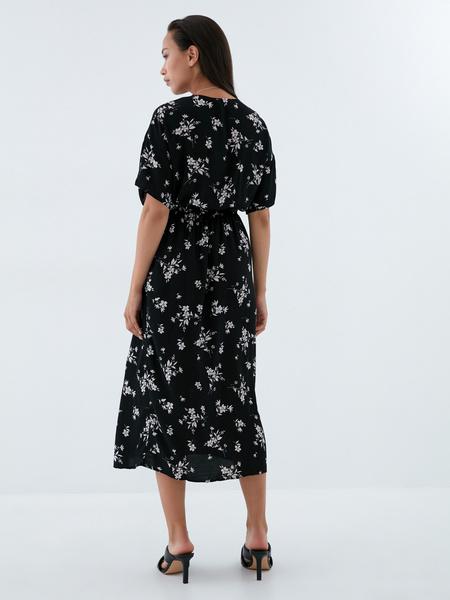 Платье-миди с запахом - фото 7