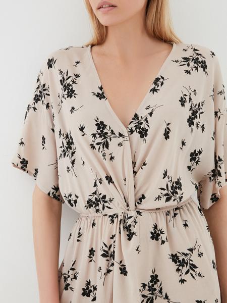 Платье-миди с запахом - фото 3