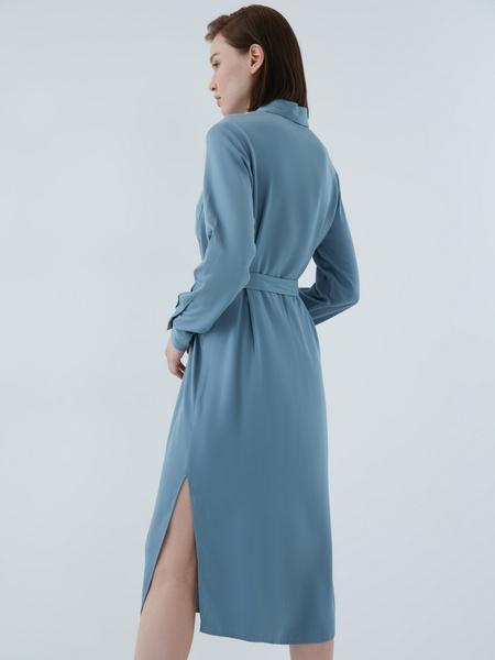 Платье-рубашка - фото 13