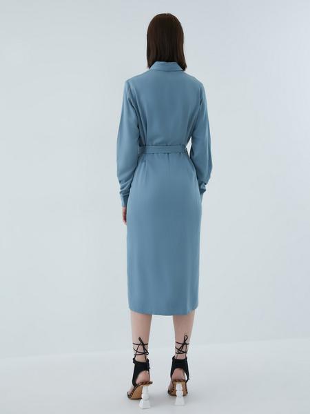 Платье-рубашка - фото 14