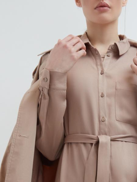 Платье-рубашка - фото 4