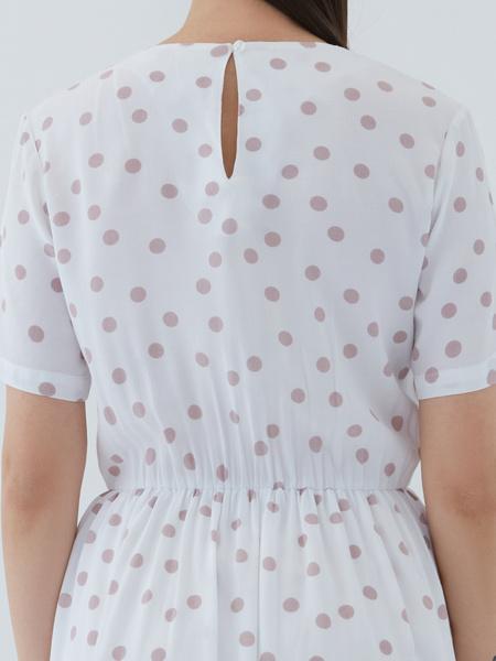 Платье из вискозы - фото 11