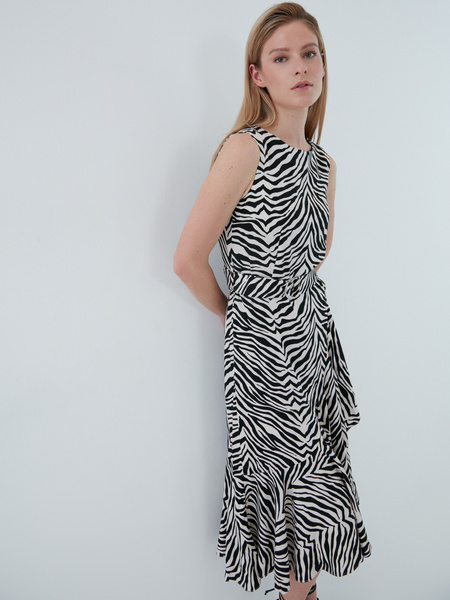 Платье из вискозы - фото 4
