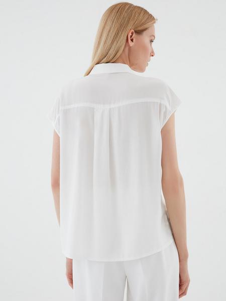 Блузка с пуговицами - фото 5