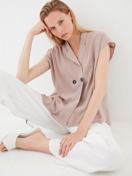 Блузка с пуговицами - фото 1