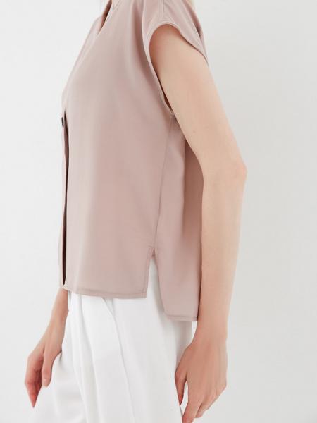 Блузка с пуговицами - фото 4