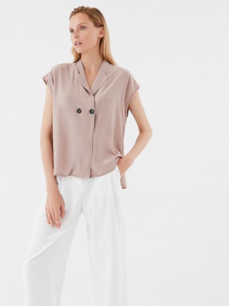 Блузка с пуговицами - фото 6