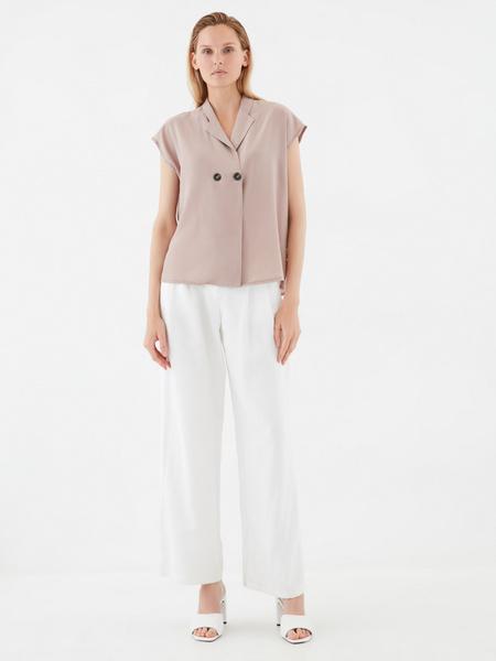 Блузка с пуговицами - фото 7