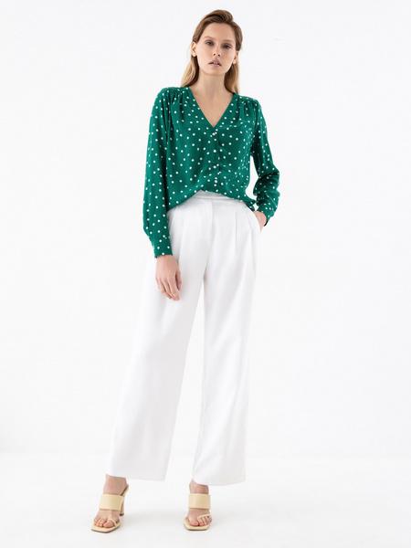 Блузка в горошек - фото 5